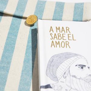 Libreta de tapas duras 'A mar sabe el amor'